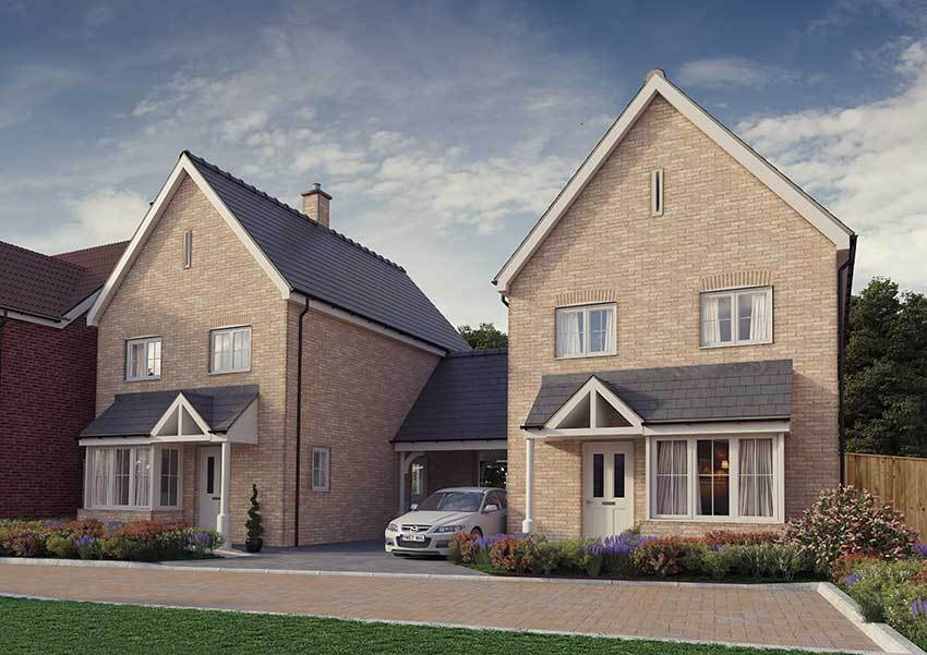 New Build Homes For Sale Bedfordshire