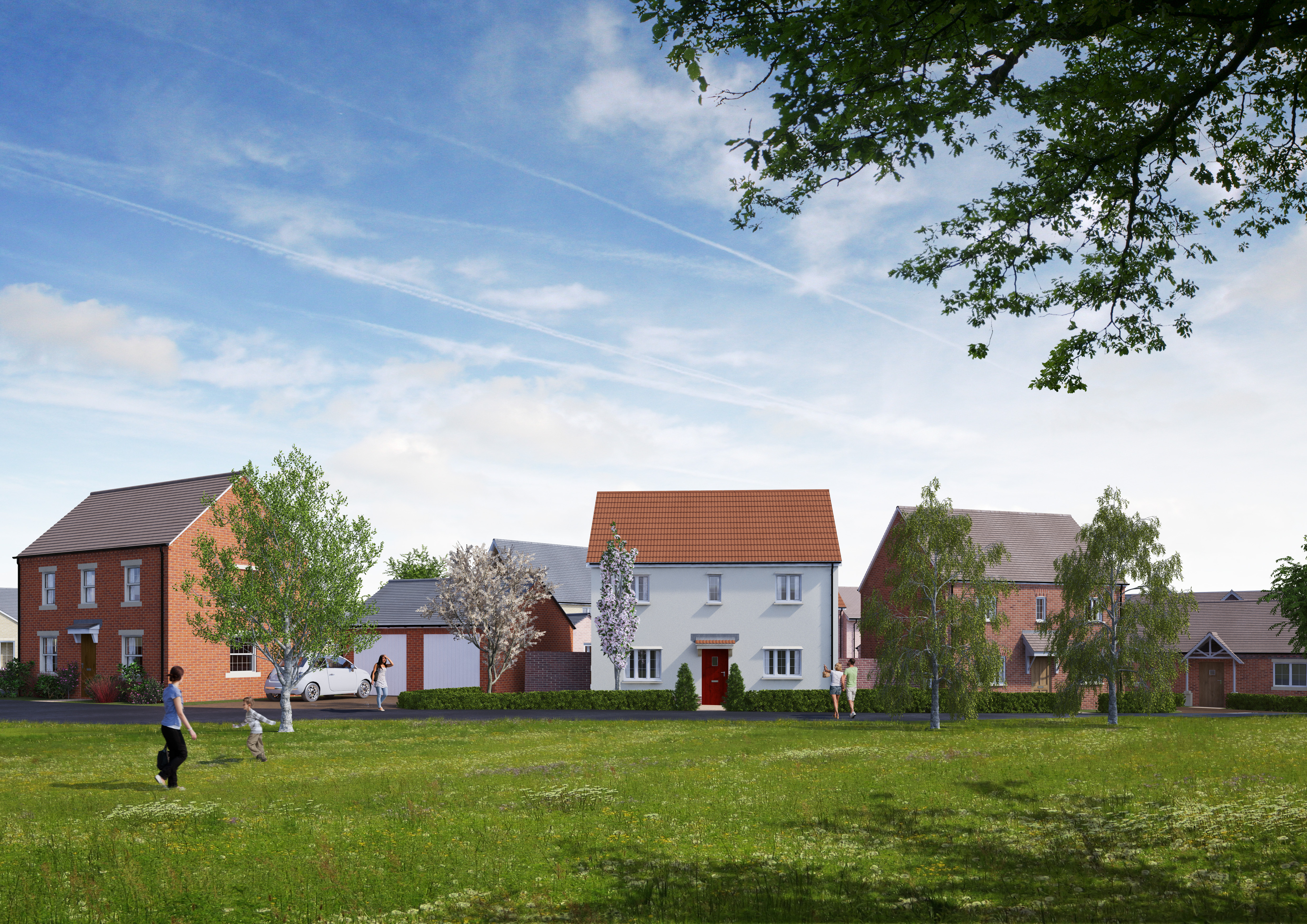 Meadow Vale, Buntingford, Hertfordshire